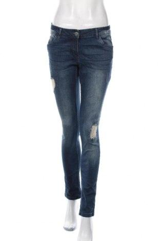 Дамски дънки Blue Motion, Размер M, Цвят Син, 98% памук, 2% еластан, Цена 23,63лв.