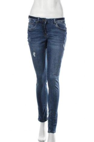 Дамски дънки Blue Motion, Размер S, Цвят Син, 98% памук, 2% еластан, Цена 11,55лв.