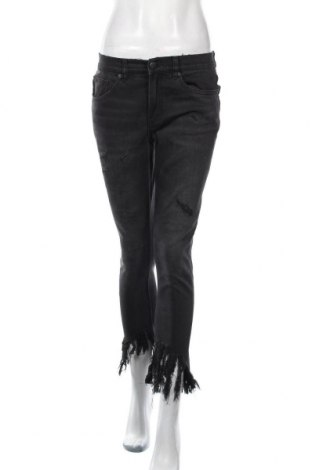 Дамски дънки Decjuba, Размер M, Цвят Черен, 69% памук, 27% полиестер, 3% вискоза, 1% еластан, Цена 10,24лв.