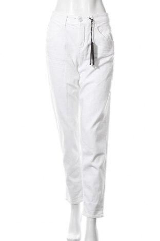 Дамски дънки Drykorn for beautiful people, Размер L, Цвят Бял, 92% памук, 8% еластан, Цена 103,05лв.
