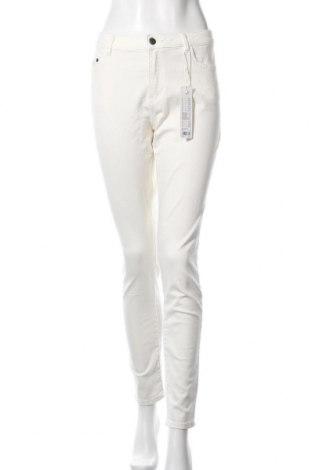 Дамски дънки Edc By Esprit, Размер L, Цвят Екрю, 98% памук, 2% еластан, Цена 66,75лв.