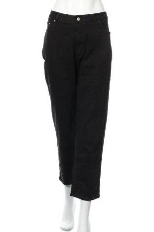 Дамски дънки Edited, Размер L, Цвят Черен, 99% памук, 1% еластан, Цена 33,82лв.