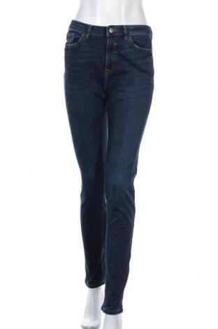 Дамски дънки Esprit, Размер M, Цвят Син, 87% памук, 12% полиестер, 1% еластан, Цена 17,01лв.