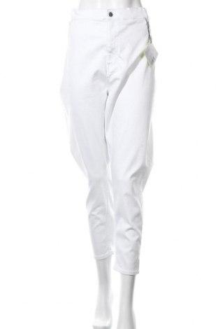 Дамски дънки Even&Odd, Размер 3XL, Цвят Бял, 90% памук, 10% еластан, Цена 31,19лв.