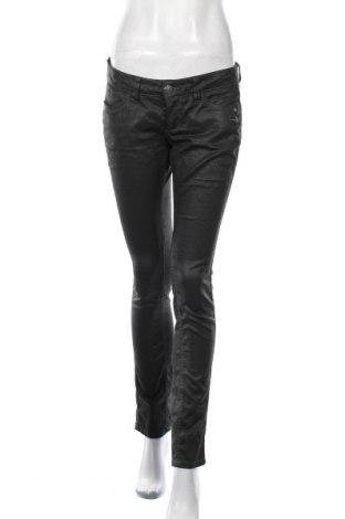 Дамски дънки Gang, Размер L, Цвят Черен, 98% памук, 2% еластан, Цена 11,81лв.