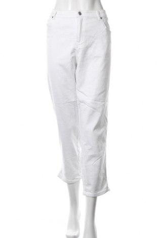 Дамски дънки Grae, Размер XL, Цвят Бял, 56% памук, 42% полиестер, 2% еластан, Цена 21,42лв.