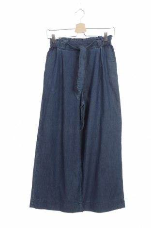 Дамски дънки H&M, Размер XS, Цвят Син, 78% памук, 22% полиестер, Цена 61,43лв.