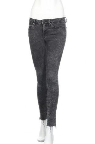 Дамски дънки H&M, Размер S, Цвят Сив, Цена 20,16лв.