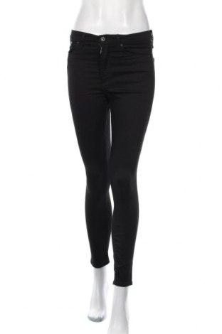 Дамски дънки H&M, Размер S, Цвят Черен, 61% памук, 18% модал, 17% полиестер, 4% еластан, Цена 15,02лв.
