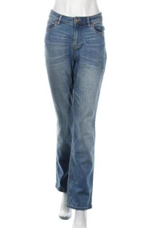 Дамски дънки H&M B'B, Размер XL, Цвят Син, 99% памук, 1% еластан, Цена 49,14лв.