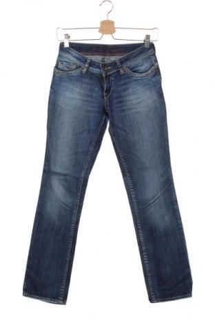 Дамски дънки Hilfiger Denim, Размер S, Цвят Син, 98% памук, 2% еластан, Цена 12,08лв.