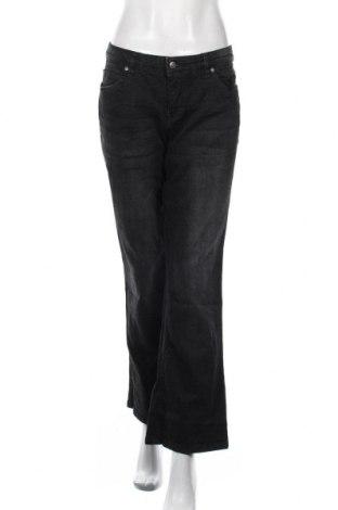 Дамски дънки John Baner, Размер XL, Цвят Черен, 98% памук, 2% еластан, Цена 21,42лв.