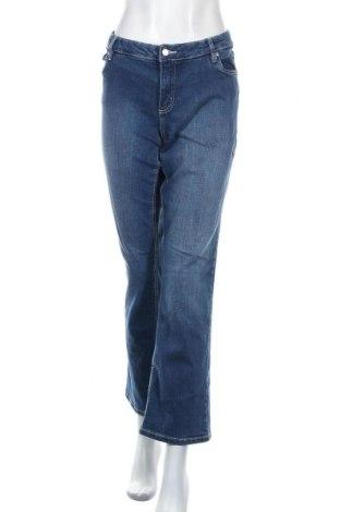 Дамски дънки John Baner, Размер XL, Цвят Син, 98% памук, 2% еластан, Цена 19,11лв.