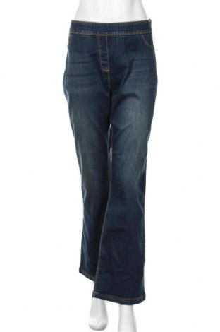 Дамски дънки Kays, Размер XL, Цвят Син, 75% памук, 23% полиестер, 2% еластан, Цена 25,20лв.