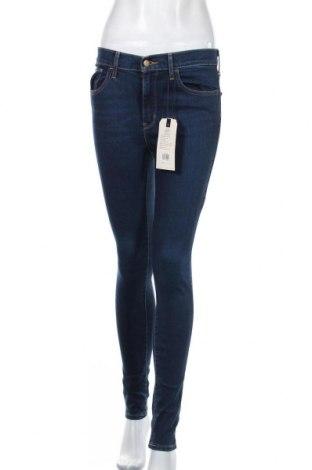 Дамски дънки Levi's, Размер S, Цвят Син, 85% памук, 9% полиестер, 6% еластан, Цена 126,75лв.