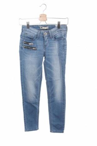 Дамски дънки Levi's, Размер XS, Цвят Син, 81% памук, 17% полиестер, 2% еластан, Цена 43,50лв.
