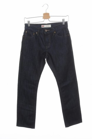 Дамски дънки Levi's, Размер S, Цвят Син, 57% памук, 43% полиестер, Цена 32,25лв.