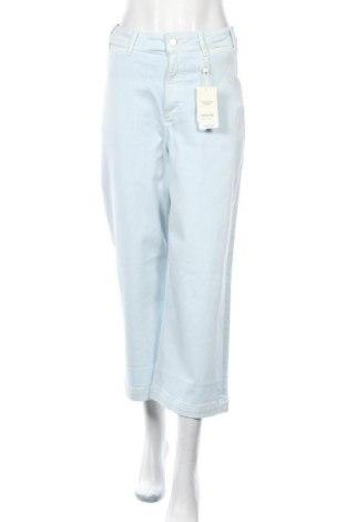 Дамски дънки Mango, Размер M, Цвят Син, 98% памук, 2% еластан, Цена 25,42лв.