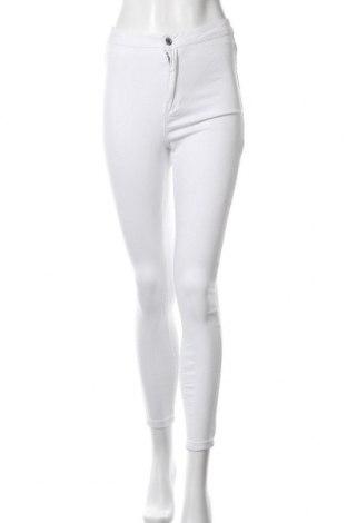 Дамски дънки Missguided, Размер S, Цвят Бял, 98% памук, 2% еластан, Цена 22,42лв.