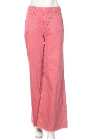 Дамски дънки Mother, Размер M, Цвят Розов, 98% памук, 2% еластан, Цена 150,26лв.