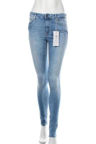 Дамски дънки ONLY, Размер M, Цвят Син, 92% памук, 8% еластан, Цена 37,92лв.