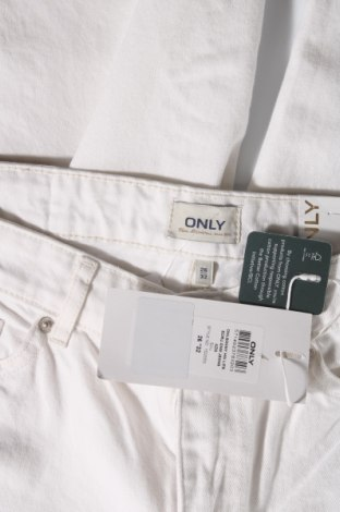 Дамски дънки ONLY, Размер S, Цвят Екрю, Памук, Цена 24,15лв.