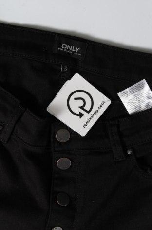 Дамски дънки ONLY, Размер L, Цвят Черен, 83% памук, 15% полиестер, 2% еластан, Цена 48,00лв.