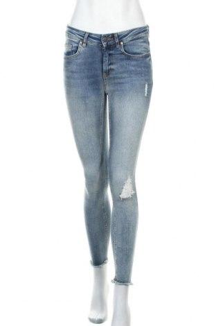 Дамски дънки ONLY, Размер S, Цвят Син, 92% памук, 8% еластан, Цена 23,56лв.