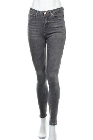 Дамски дънки ONLY, Размер S, Цвят Сив, 98% памук, 2% еластан, Цена 26,04лв.