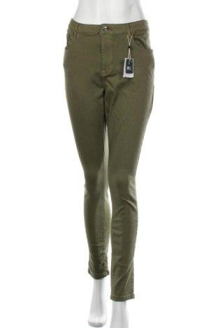 Дамски дънки Only Carmakoma, Размер XL, Цвят Зелен, 92% памук, 6% полиестер, 2% еластан, Цена 33,12лв.