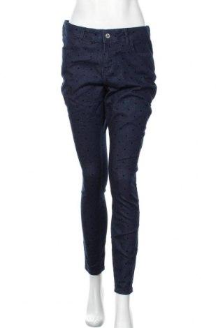 Дамски дънки Orsay, Размер L, Цвят Син, 99% памук, 1% еластан, Цена 10,29лв.