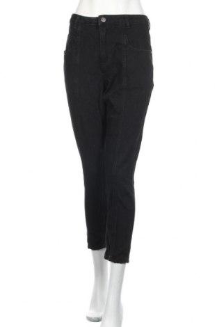 Дамски дънки Promod, Размер S, Цвят Черен, Памук, Цена 26,93лв.