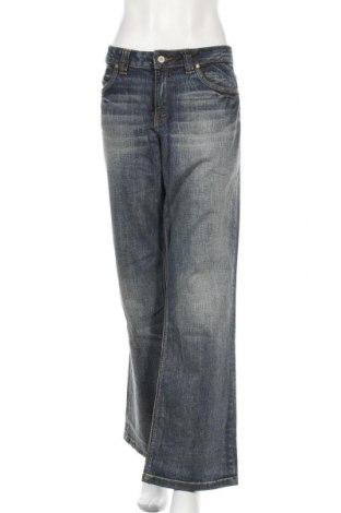 Дамски дънки S.Oliver, Размер XXL, Цвят Син, 98% памук, 2% еластан, Цена 15,12лв.