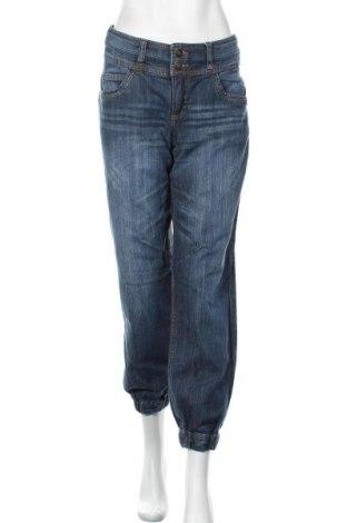 Дамски дънки Sheego, Размер L, Цвят Син, 98% памук, 2% еластан, Цена 18,48лв.