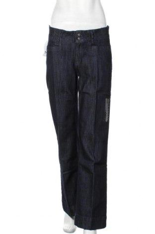 Дамски дънки TCM, Размер M, Цвят Син, 64% памук, 36% еластан, Цена 33,60лв.