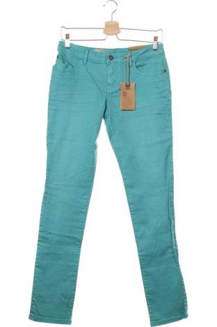 Дамски дънки Timberland, Размер XS, Цвят Син, 98% памук, 2% еластан, Цена 31,80лв.