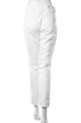Дамски дънки Tom Tailor, Размер L, Цвят Бял, 98% памук, 2% еластан, Цена 22,62лв.