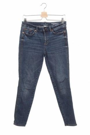 Дамски дънки Tom Tailor, Размер M, Цвят Син, 98% памук, 2% еластан, Цена 63,00лв.