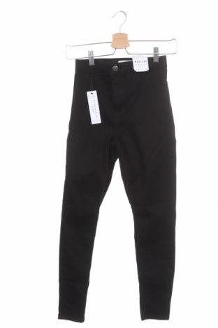 Дамски дънки Topshop, Размер S, Цвят Черен, 71% памук, 26% полиестер, 3% еластан, Цена 27,00лв.