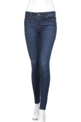 Дамски дънки Vero Moda, Размер S, Цвят Син, 62% памук, 32% полиестер, 4% вискоза, 2% еластан, Цена 20,79лв.