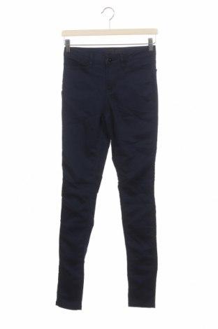 Дамски дънки Vero Moda, Размер XS, Цвят Син, 57% памук, 42% полиестер, 1% еластан, Цена 23,21лв.