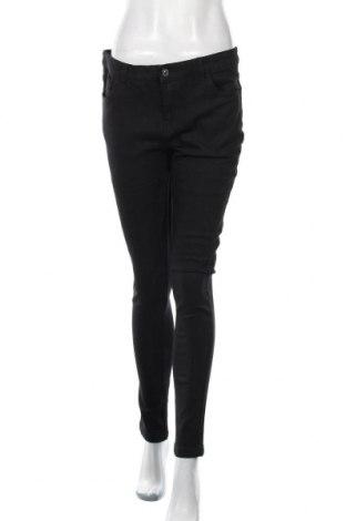 Дамски дънки Women Only, Размер M, Цвят Черен, 76% памук, 23% полиестер, 1% еластан, Цена 10,29лв.