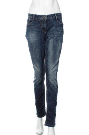 Дамски дънки Yessica, Размер XL, Цвят Син, 99% памук, 1% еластан, Цена 27,30лв.