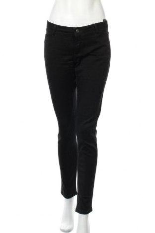 Дамски дънки Yessica, Размер M, Цвят Черен, 75% памук, 23% полиестер, 2% еластан, Цена 21,42лв.