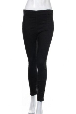 Дамски дънки Zara, Размер M, Цвят Черен, 88% памук, 9% полиестер, 3% еластан, Цена 33,12лв.
