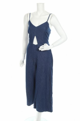 Γυναικεία τζίν σαλοπέτα Pull&Bear, Μέγεθος L, Χρώμα Μπλέ, Βαμβάκι, Τιμή 19,05€