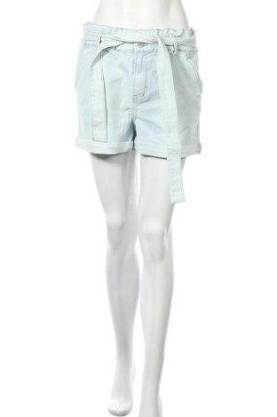 Дамски къс панталон Guido Maria Kretschmer for About You, Размер M, Цвят Син, 99% памук, 1% еластан, Цена 21,39лв.