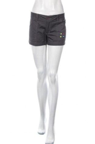 Pantaloni scurți de femei Maui And Sons, Mărime L, Culoare Gri, Bumbac, Preț 25,66 Lei