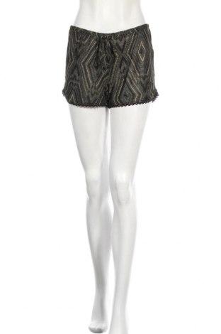 Pantaloni scurți de femei Women'secret, Mărime S, Culoare Negru, 77% poliester, 17% viscoză, 6% fire din metal, Preț 29,11 Lei