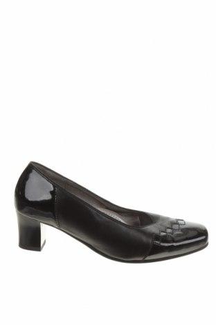 Дамски обувки Ara, Размер 38, Цвят Черен, Естествена кожа, Цена 37,20лв.